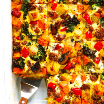 Cozy Autumn Breakfast Casserole