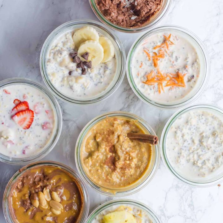 Easy Overnight Oatmeal Recipes